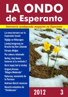 La Ondo de Esperanto, 2012, marto