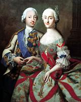 Petro III kaj Katarino II