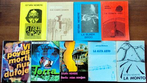 Libroj de Istvan Nemere