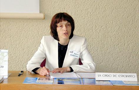 Halina Gorecka prezentas La Ondon