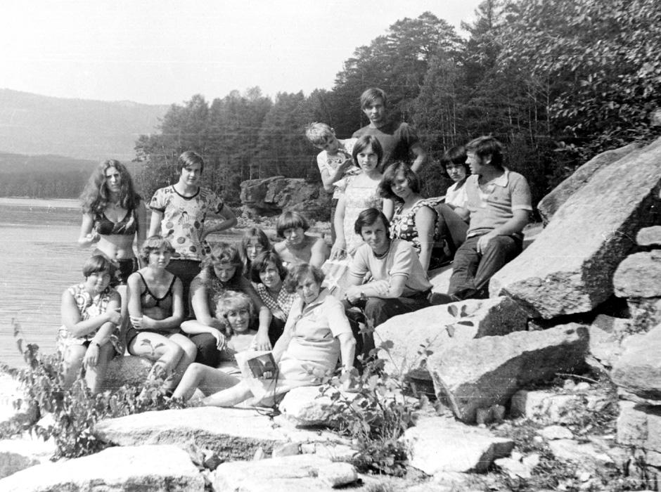 OrSEJT-19 ĉe la laGO tURGOJAK (1977)
