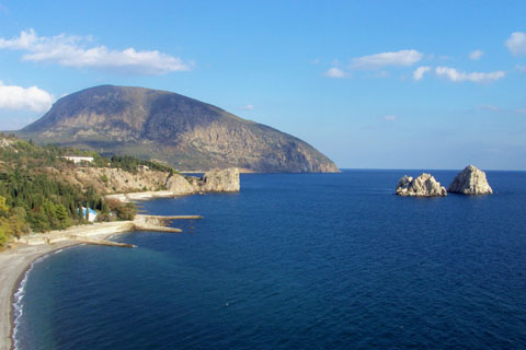 Monto Ajudag en Krimeo