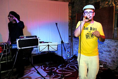 Lou Davi en Dub