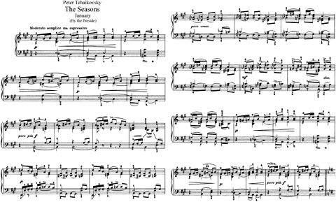 Чайковский - Времена года