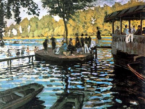 Claude Monet. La Grenouillére