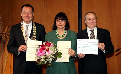 FAME-premio por Katalin Kováts