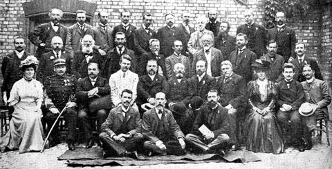 Lingva Komitato en 1907